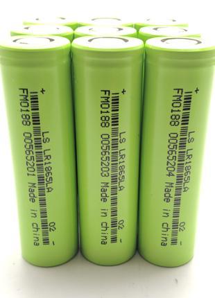 Высокотоковые аккумуляторы 18650 Lishen LR1865LA 2000 мАч