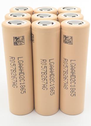 Высокотоковые аккумуляторы LG 18650 HD2C 2100 мАч