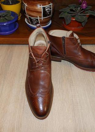 Ботинки , броги shoe embassy leather brogue boots