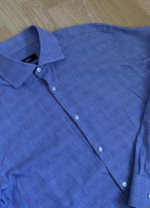 Hugo boss classic shirt рубашка в клетку