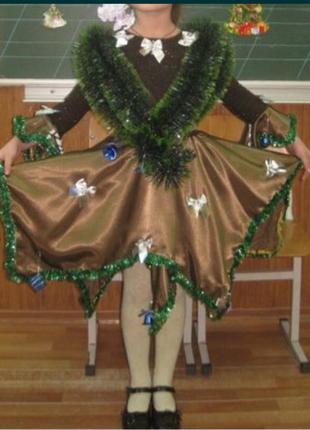 Платье,карнавальное,новогоднее,Елочка,ялинка,сукня
