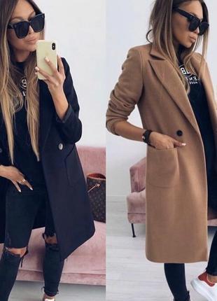 Женское кашемировое пальто тренч