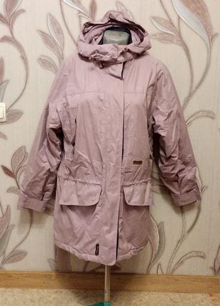Удлиненная куртка зимняя