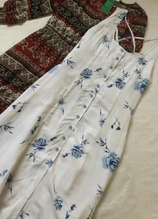 Платье халат на пуговицах bonprix размер 16