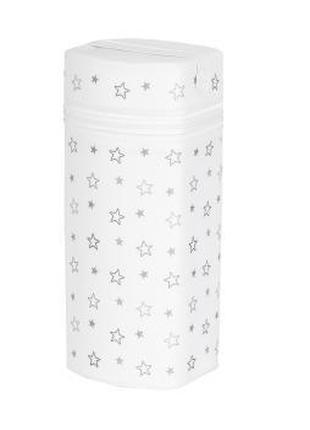 Термосумка с пенопласта для бутылочек Jumbo Stars grey