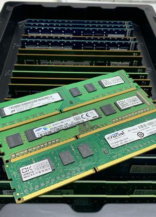 Оперативная память Dimm DDR3 4 gb 1600 MHz PC3-12800 1333Mhz 1066