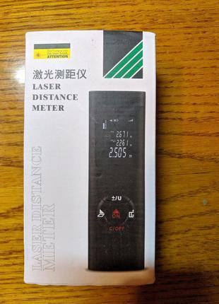 Лазерная рулетка, дальномер DANIU 40M