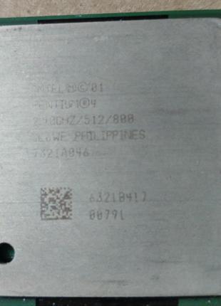 Процессор Intel Pentium 4 2.4 GHz на сокет 478