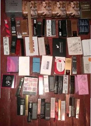 Картонные упаковочные коробочки из под косметики