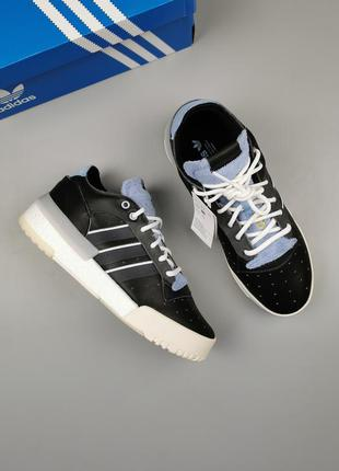 Кроссовки оригинал adidas rivalry rm low boost core black ee6377