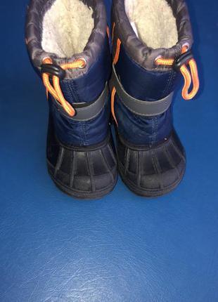 Зимові чобітки 15см.