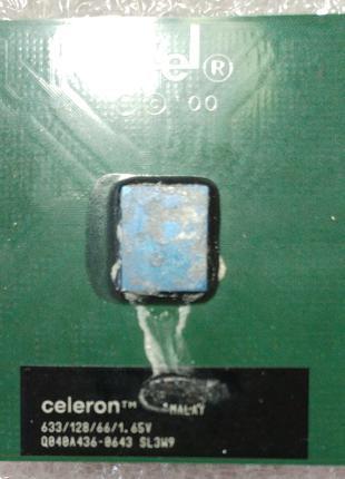Процессор сокет 370 Intel Celeron SL3W9 633MHz 128 66