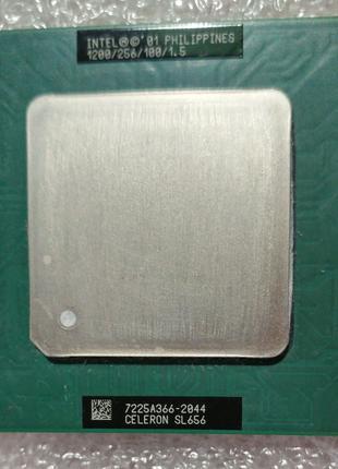 Процессор сокет 370 Intel Celeron SL656 1200MHz 256 100