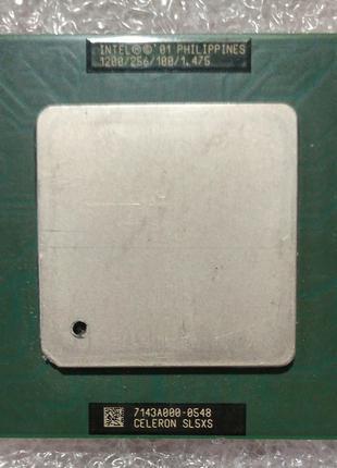 Процессор сокет 370 Intel Celeron SL5XS 1200MHz 256 100