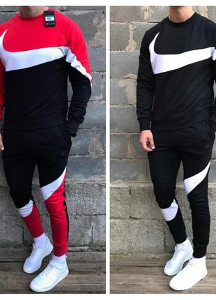 Мужской спортивный костюм Nike( Найк) на флисе
