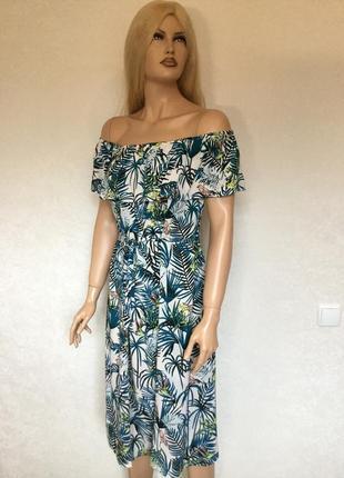 Платье с воланом на плечи atmosphere размер 18/20