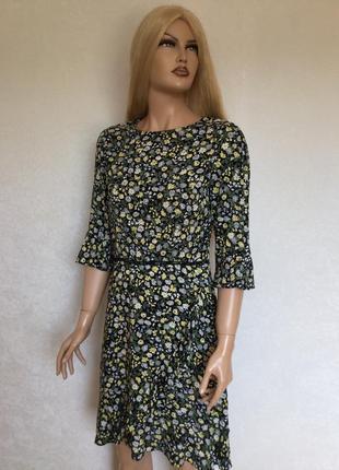 Летнее платье в цветы oasis размер 10