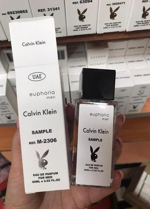 Мужская парфюмерия calvin klein euphoria men с феромонами