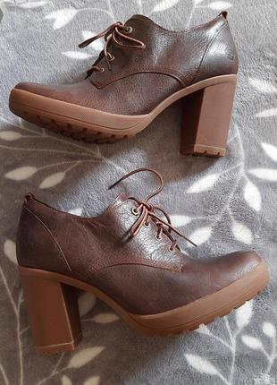 Timberland ●стел-26см● кожаные ботинки, ботильоны. Оригинал