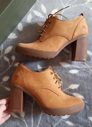 Timberland ●р37-40● кожаные ботинки, ботильоны. Оригинал.