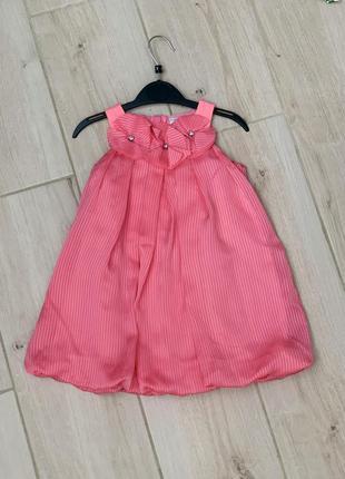 Нарядное праздничное летнее платье для девочки