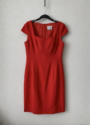 Классическое деловое офисное платье футляр строгое шерсть