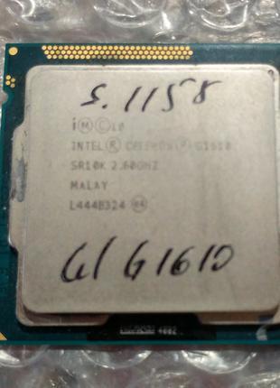 Процессор сокет 1155 Intel Pentium G1610 2.6ГГц