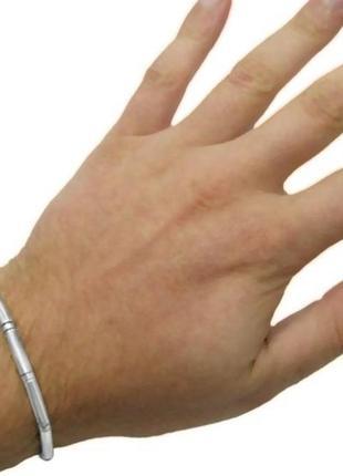 Серебряный мужской браслет, 925