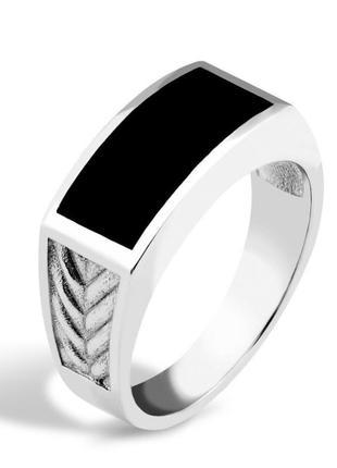 Мужское серебряное кольцо, печатка, перстень, 925