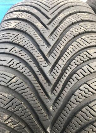 Зимові шини б/у 2шт. Michelin Alpin 5 215/55 R16 (6,5mm)