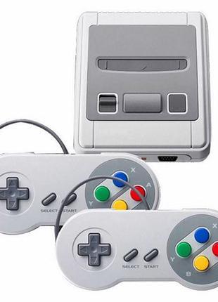 Игровая приставка консоль Dendy SNES 8 бит 620 игр 2 геймпада