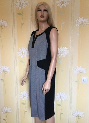 Платье трикотажное в гусиную лапку george 20 размер