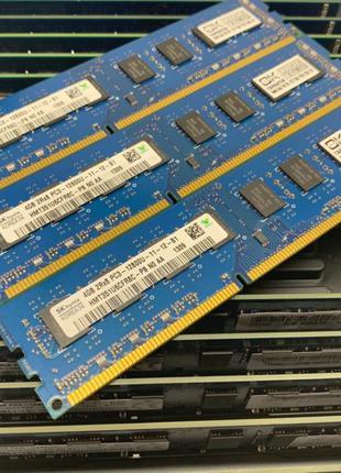 Оперативная память Dimm DDR3 4 gb 1600 MHz PC3-12800 1333Mhz 1...