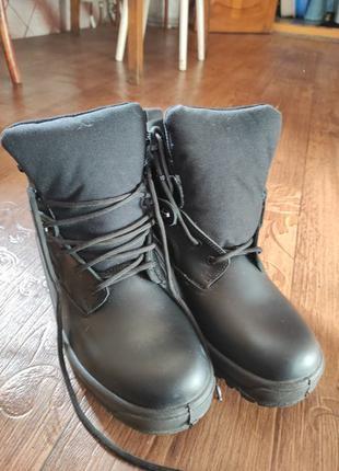 Ботинки тактические берцы кожаные 45 размер