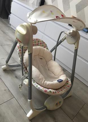 Chicco кресло-качалка, люлька
