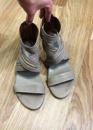Босоножки сандалии женские varese 23.5см 23см натуральная кожа...