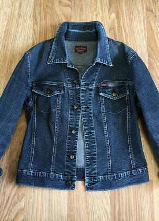 Джинсовый пиджак куртка котонка женская с хс