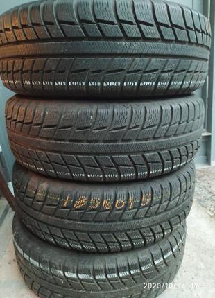 Зимние шины Michelin Alpin 185/60/15 бу