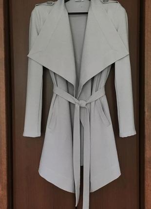 Летний тренч длинный пиджак женский object м с
