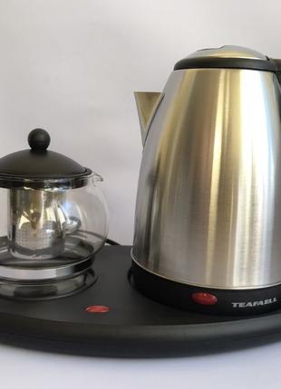 Чайник электрический с чайничком для заварки чая