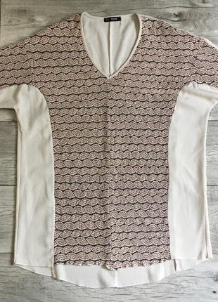 Туника длинная футболка женская cimini л