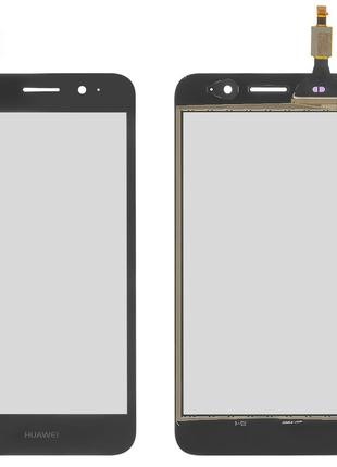 Сенсор Huawei Y3 2017 (CRO-L02/ CRO-L22)/ Y5 Lite 2017 чёрный