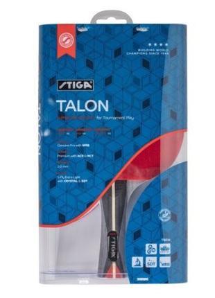 Ракетка настольный теннис Stiga Talon 4 звезды