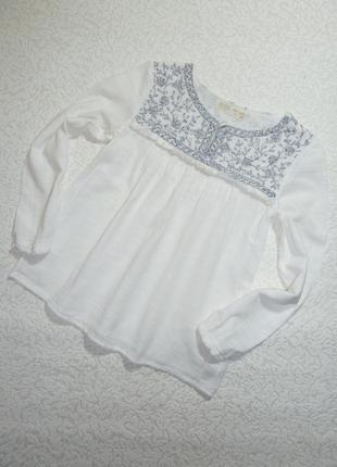 Блуза zara на 9-10 лет