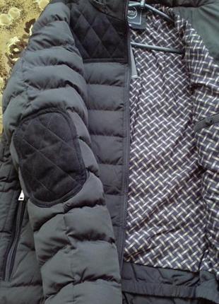 Мужская зимняя куртка черного цвета с польского сайта denley