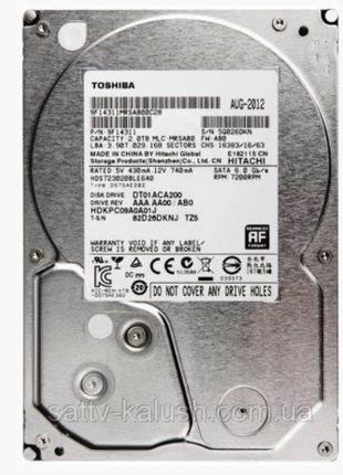 HDD 2TB Toshiba 3.5 SATA