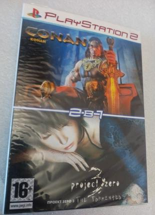 PlayStation 2 конан проект зеро