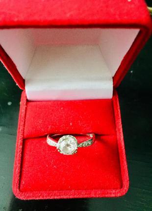 Кольцо серебряное 16 размер