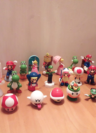 McDonalds Happy Meal Super Mario Nintendo, Супер Марио, Луиджи