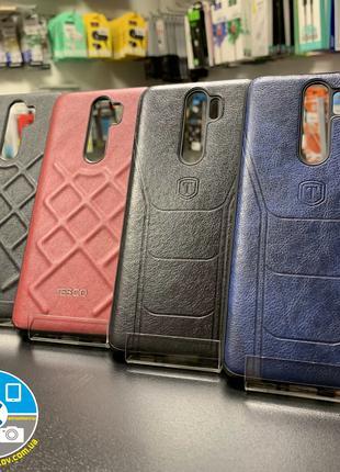 Кожаный Чехол Xiaomi Redmi Note 8 PRO (Leather,Jesco)